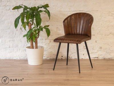 Chaise en cuir Madison