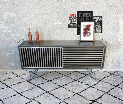 Buffet metal vintage Sixties Design