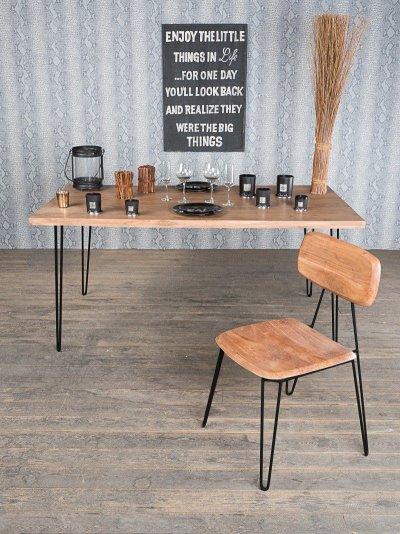 TABLE DE SALLE A MANGER SCANDINAVE CLIP