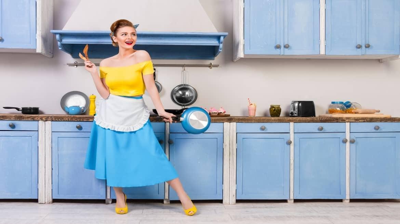 Les éléments qu'il faut pour avoir une cuisine rétro
