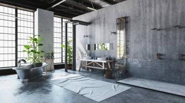 Les raisons d'opter pour une salle de bains design de style industriel