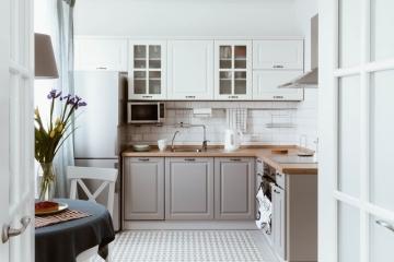 Manque d'espace : pourquoi pas une cuisine minimaliste ?