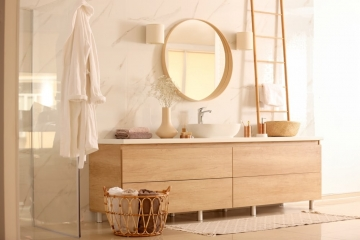 Mettre en valeur une salle de bains de petite surface