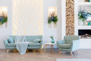 Quel canapé choisir pour son salon scandinave?