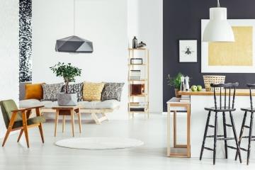 Salon et salle à manger comment délimiter l'espace