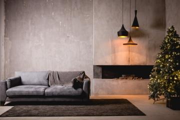 Un mur en béton pour parfaire le style industriel de votre maison