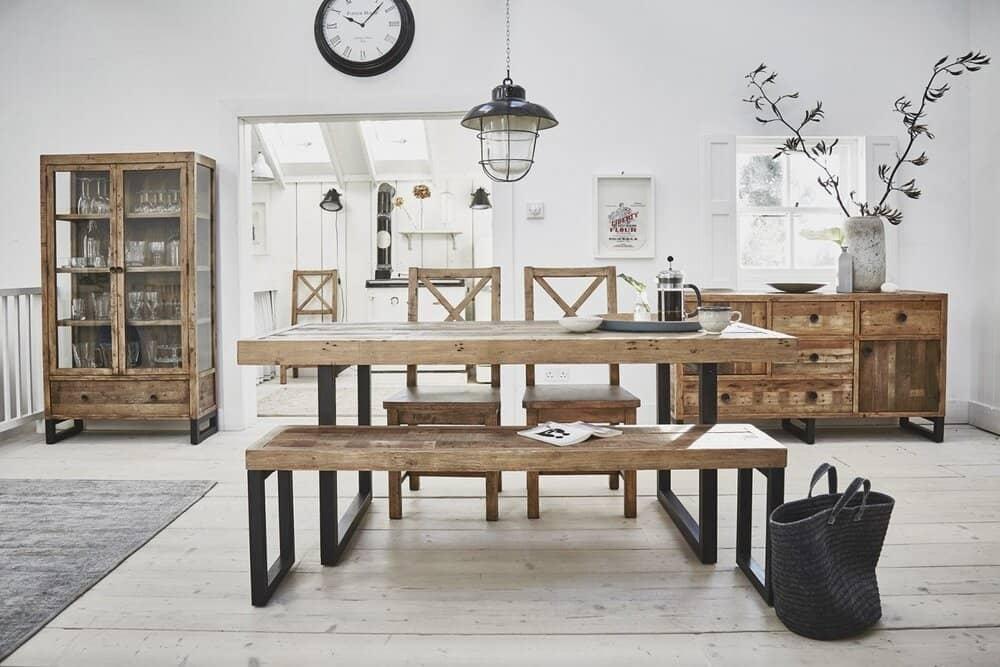 Une cuisine ou une salle à manger au style industriel, c'est aussi possible!
