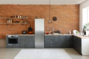 Une étagère murale pour rendre sa cuisine industrielle